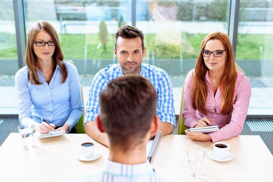 Bild eines Prüfungsausschusses in der Ausbildereignungsprüfung